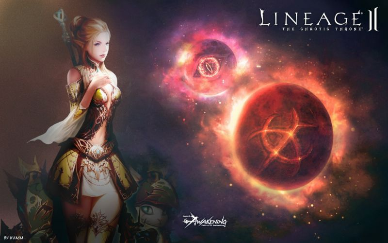 Lineage 2 games wallpaper