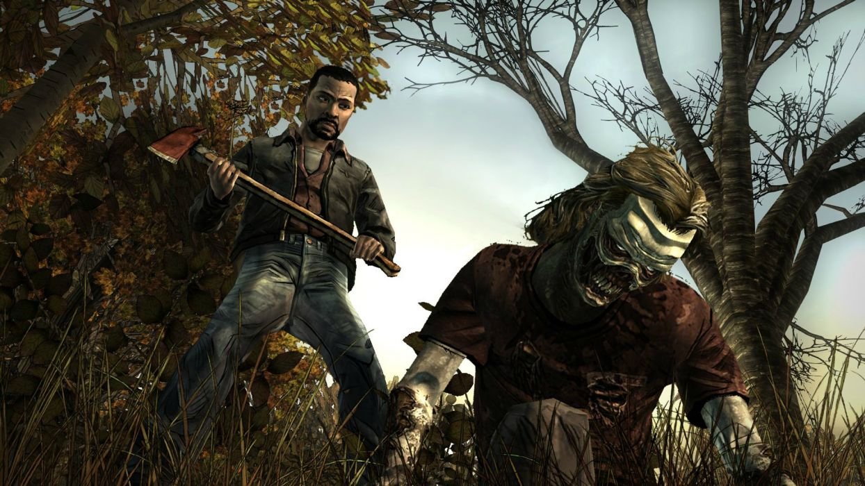 THE WALKING DEAD horror drama dark zombie   gs wallpaper