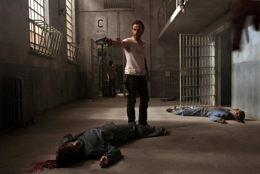 THE WALKING DEAD horror drama dark zombie  gs wallpaper