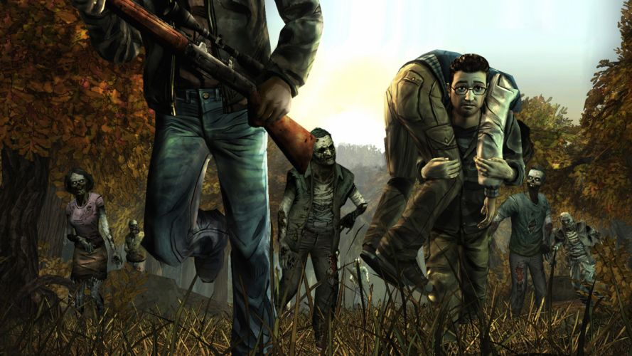 THE WALKING DEAD horror drama dark zombie jg wallpaper