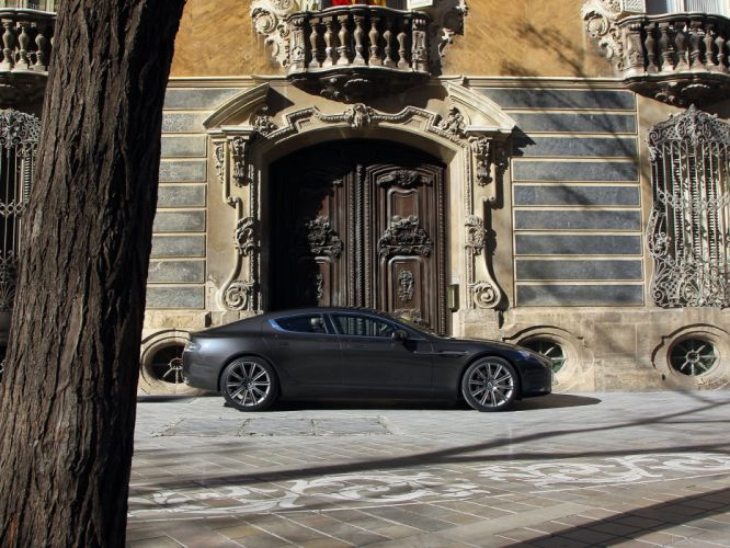 cars Aston Martin Aston Martin Rapide wallpaper