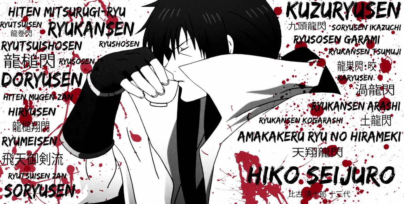 Rurouni Kenshin Anime Samurai X Wallpaper 4000x2018 205781