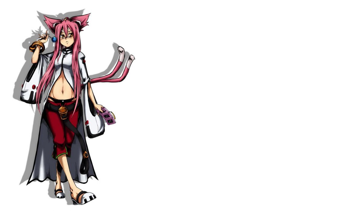 Blazblue simple background Kokonoe (Blazblue) wallpaper