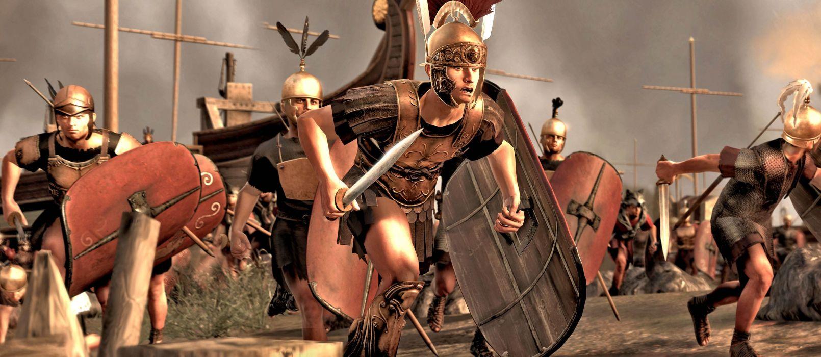 TOTAL WAR ROME action fantasy warrior armor       g wallpaper