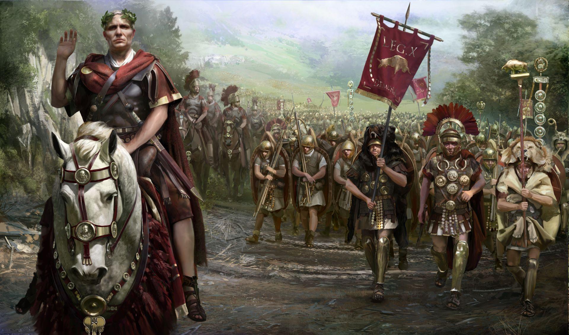 TOTAL WAR ROME Action Fantasy Warrior Armor Roman Wallpaper