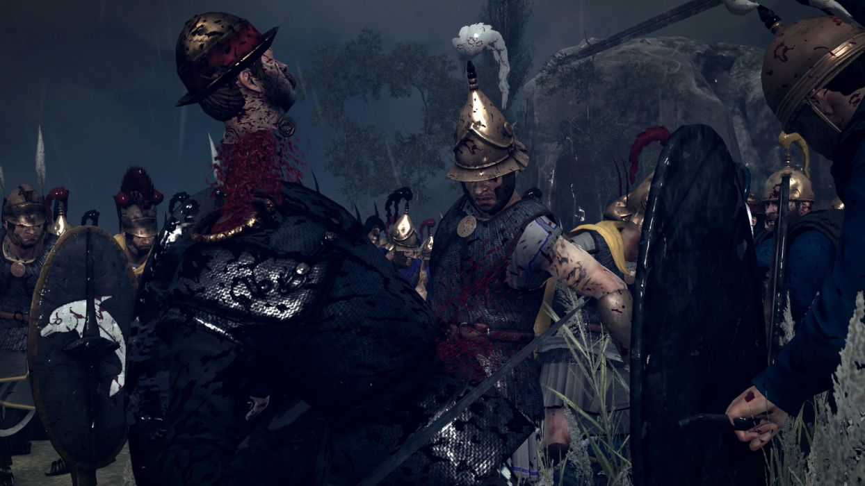 TOTAL WAR ROME action fantasy warrior battle dark blood       g wallpaper