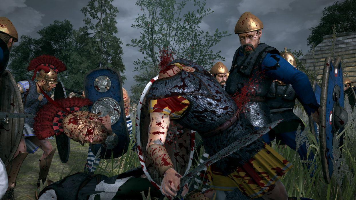 TOTAL WAR ROME action fantasy warrior battle dark blood    f wallpaper