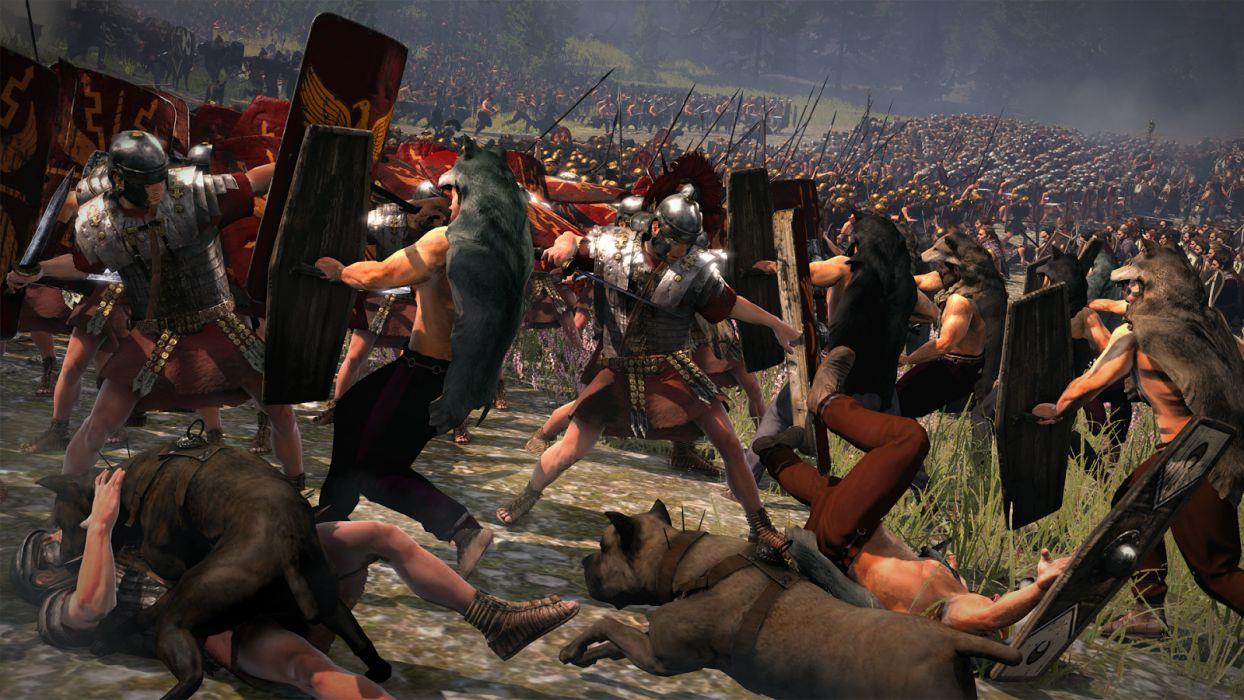 TOTAL WAR ROME action fantasy warrior battle dark blood  hr wallpaper