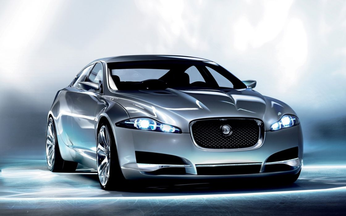 cars Jaguar concept art wallpaper