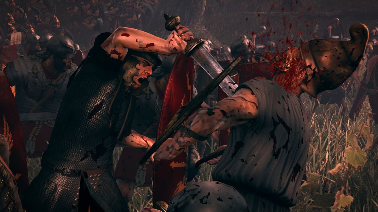 TOTAL WAR ROME action fantasy warrior battle sword dark blood   g wallpaper