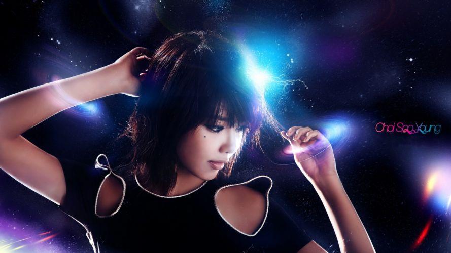 celebrity Asians Korean Choi Sooyoung bangs wallpaper