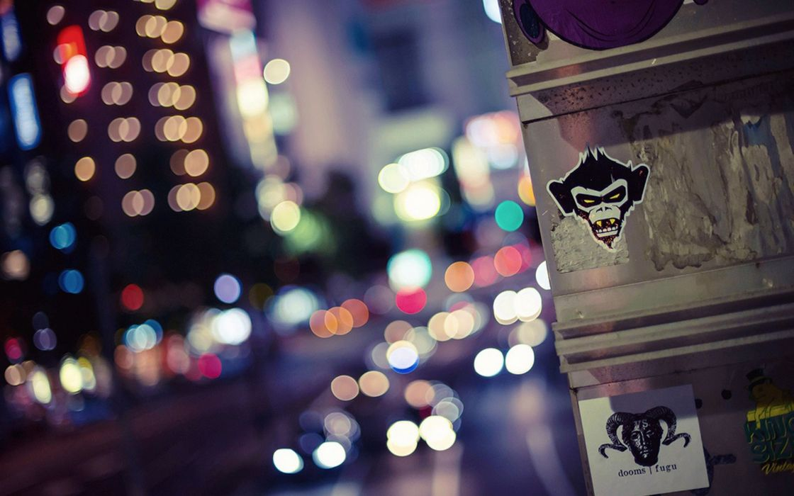 Japan Tokyo cityscapes urban bokeh city lights wallpaper