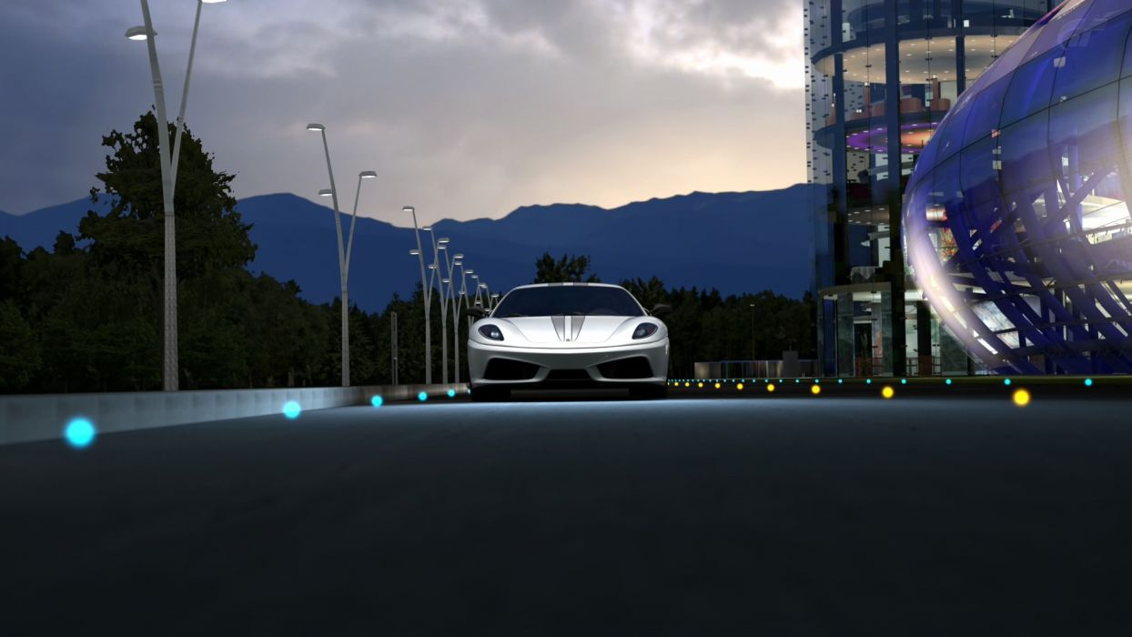 video games cars vehicles Gran Turismo 5 Playstation 3 Ferrari F430 Scuderia wallpaper