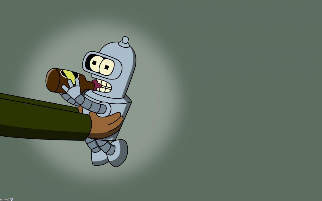 Futurama Bender baby Hermes Conrad