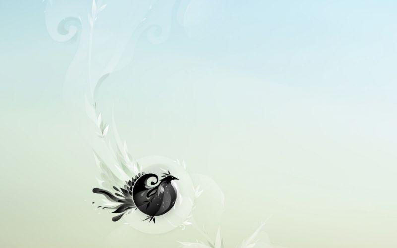abstract birds wallpaper