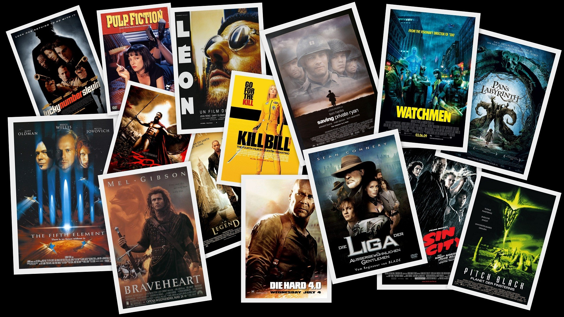 Movies digital art collage movie posters fan art wallpaper movies digital art collage movie posters fan art wallpaper 1920x1080 205901 wallpaperup voltagebd Image collections