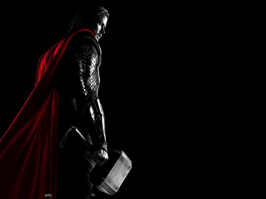 Thor Chris Hemsworth Thor (movie) Mjolnir wallpaper
