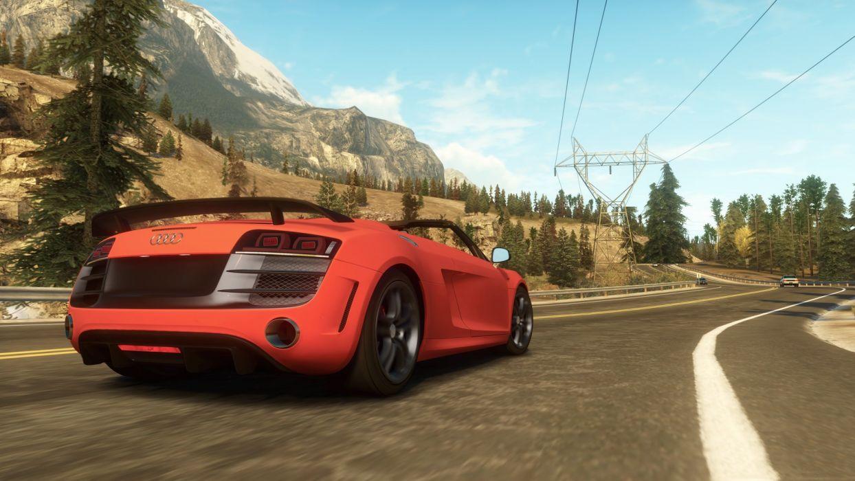 video games cars Xbox 360 Audi R8 GT Spyder Forza Horizon wallpaper