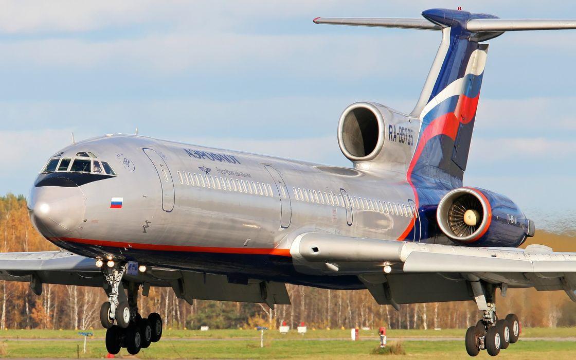 aircraft aeroflot Tu-154M wallpaper