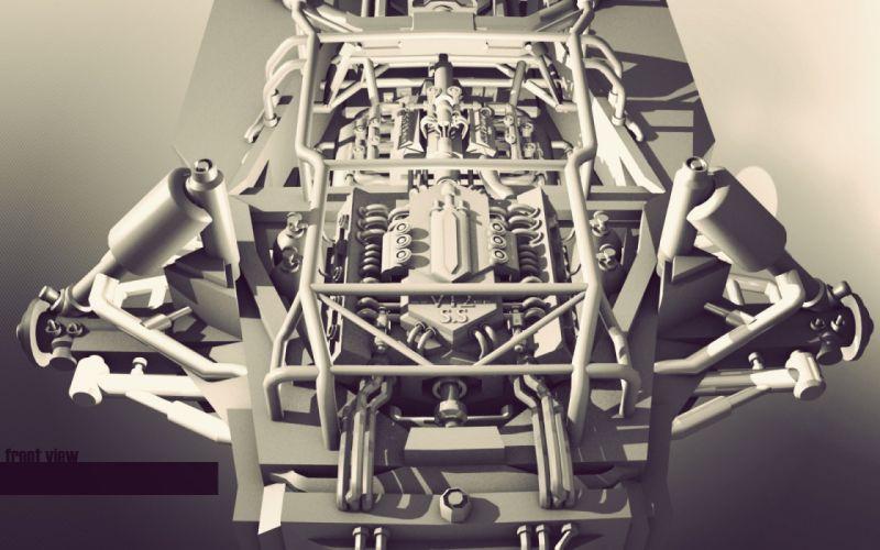 vintage engines drawings wallpaper