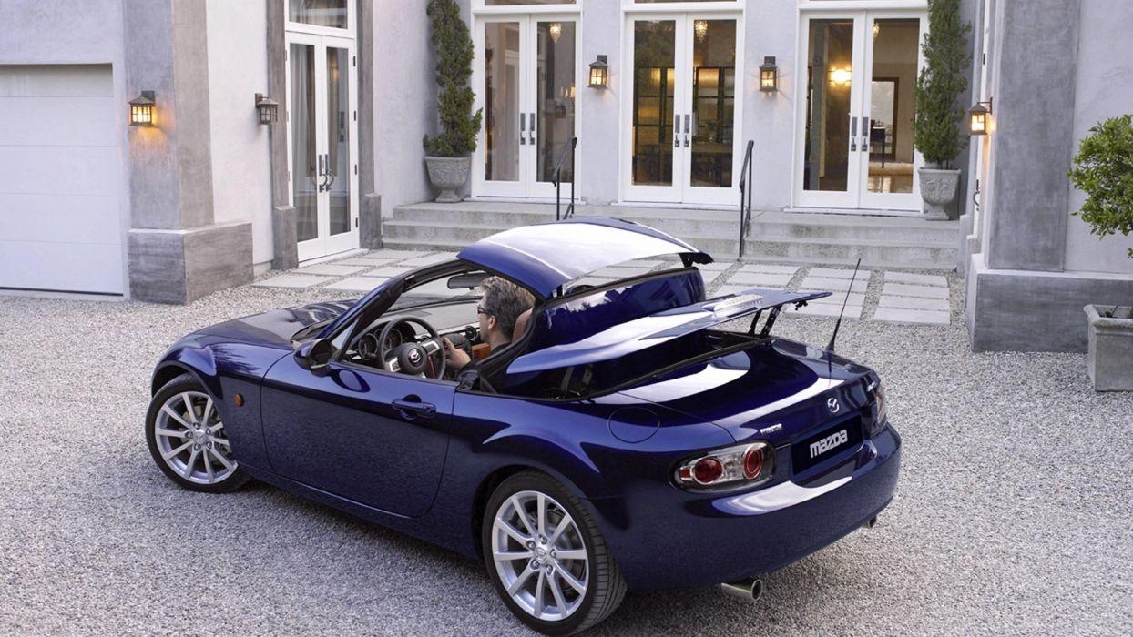 cars Mazda convertible wallpaper