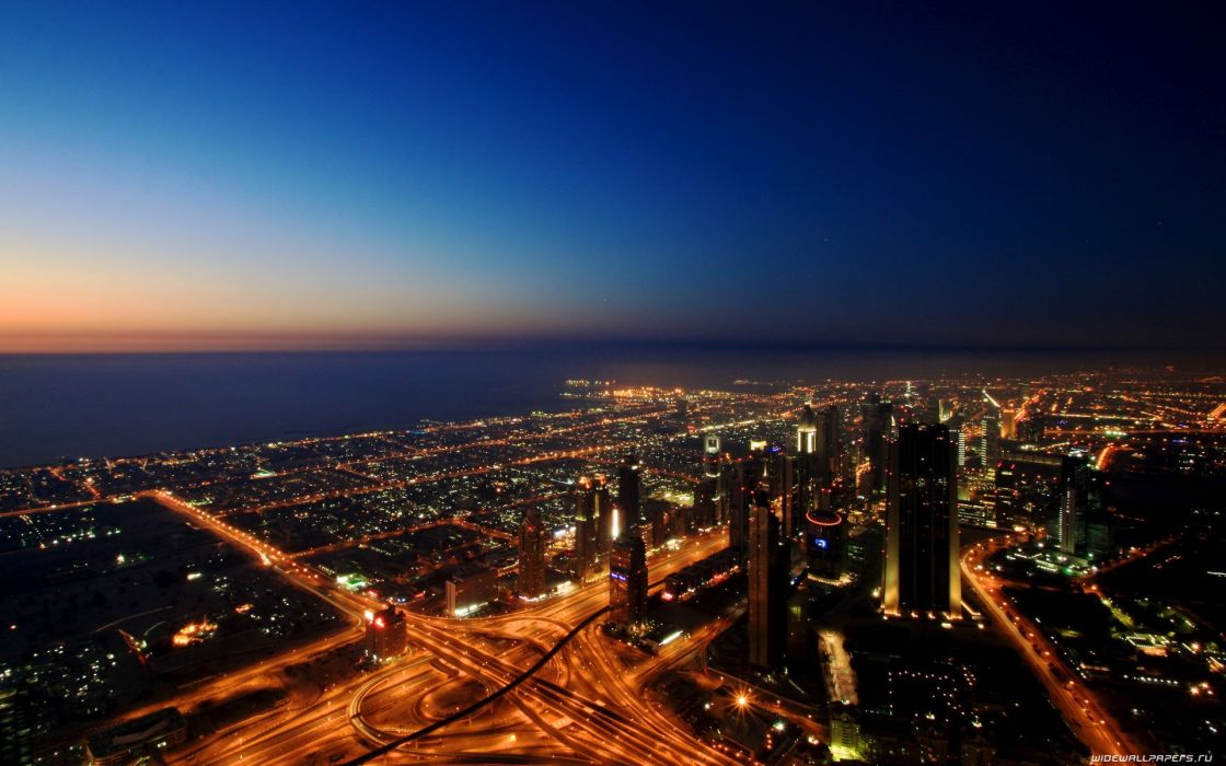 cityscapes skylines night urban skyscapes cities wallpaper