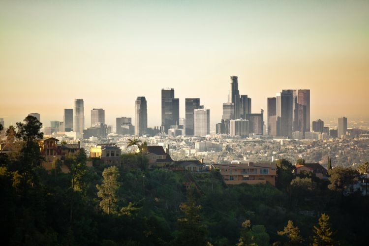 Los Angeles Skyline wallpaper