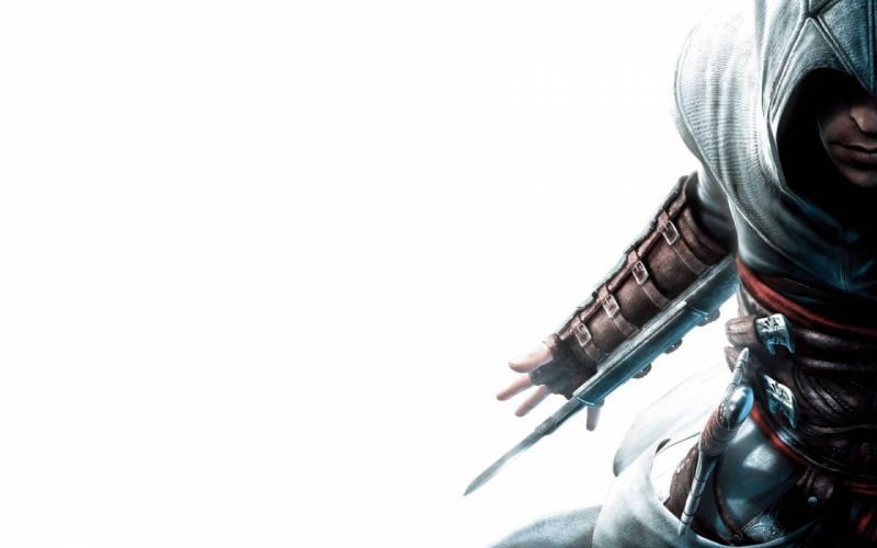video games assassin Assassins Creed Altair Ibn La Ahad artwork wallpaper