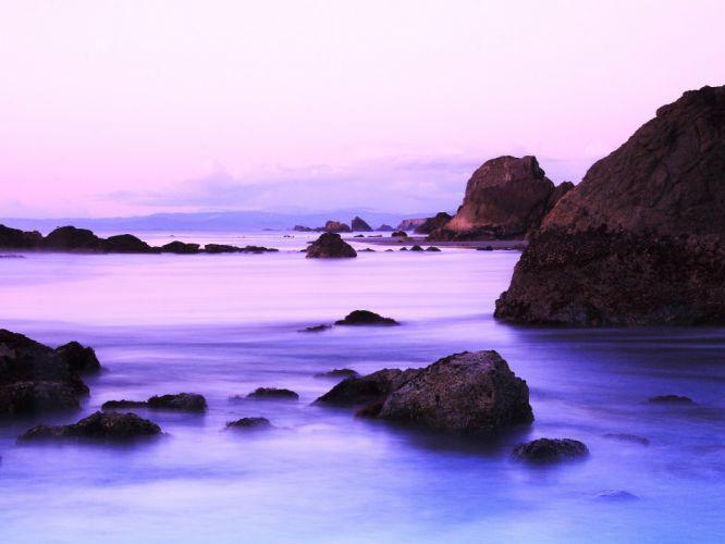 water rocks wallpaper
