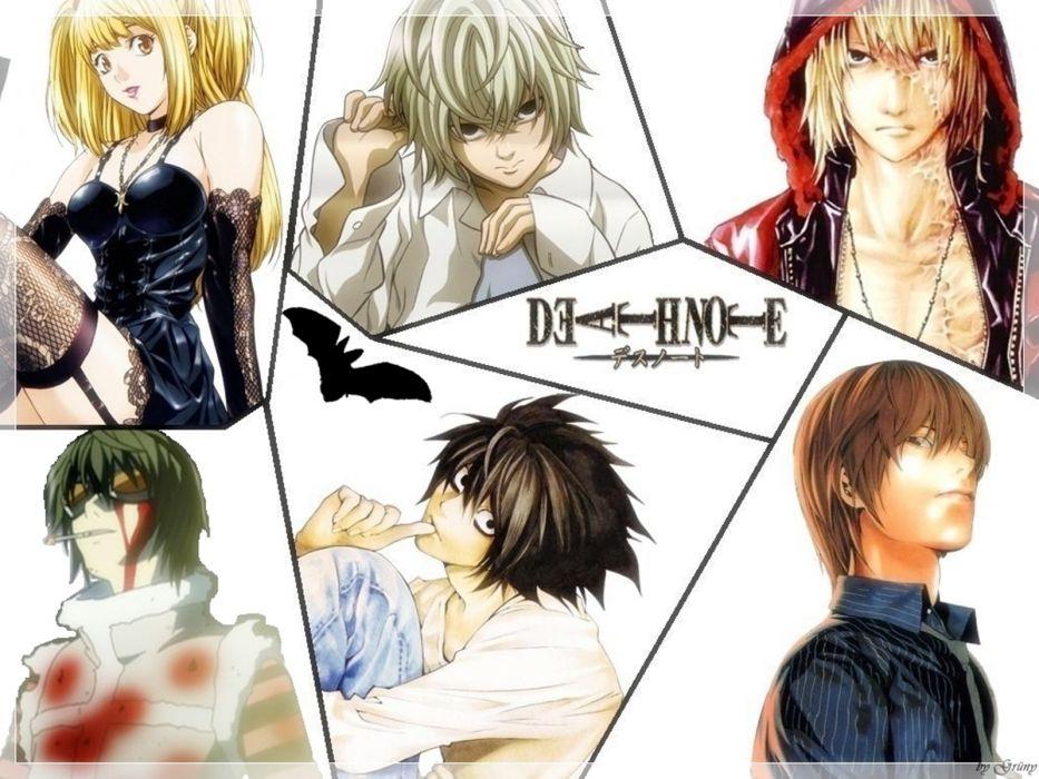 Death Note Kira lawliet wallpaper