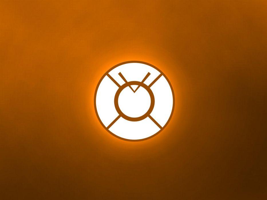 DC Comics Orange Lantern Corps wallpaper