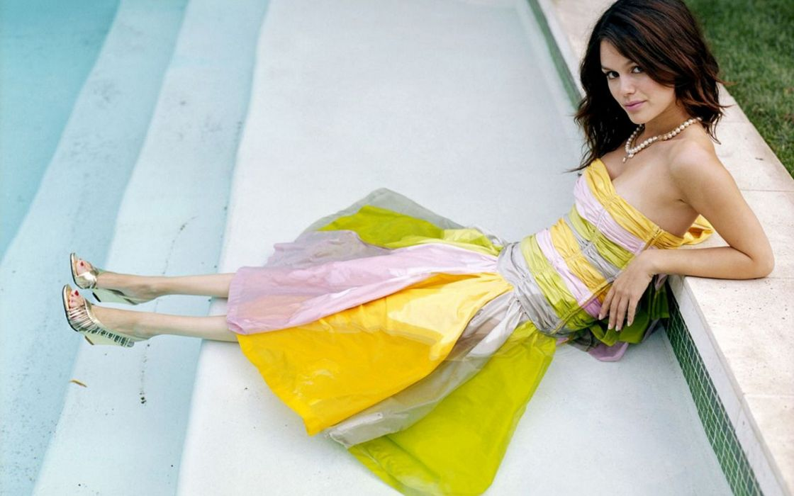 women Rachel Bilson wallpaper