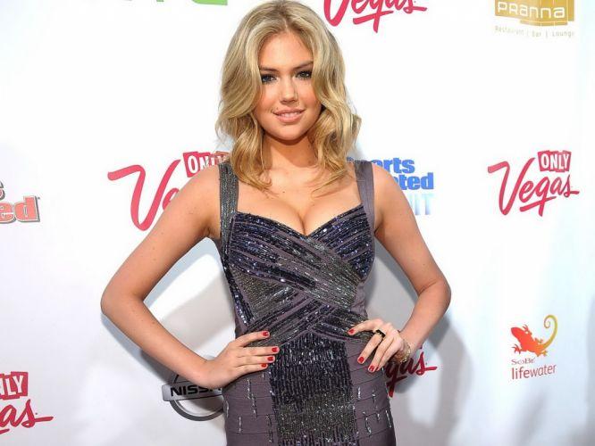 blondes women models Kate Upton wallpaper