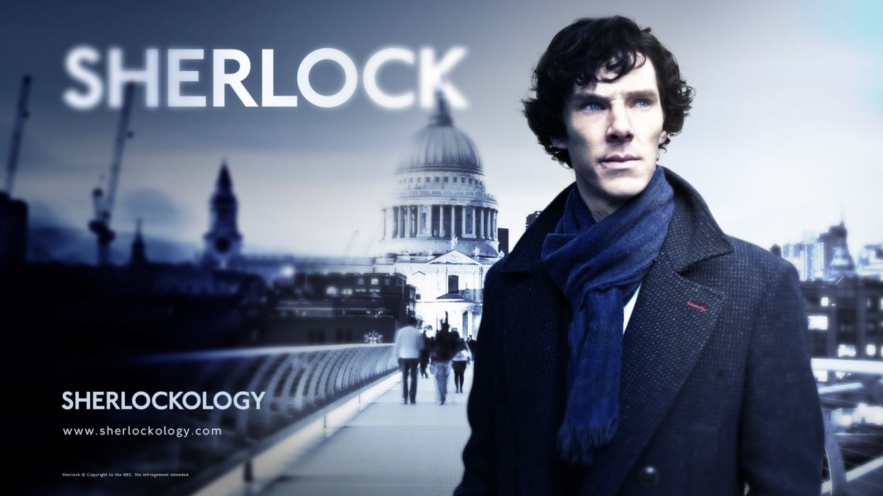 Sherlock Holmes TV series Benedict Cumberbatch Sherlock BBC wallpaper
