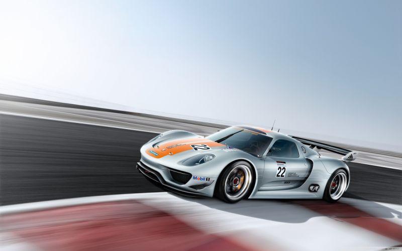 cars vehicles Porsche 918 wallpaper