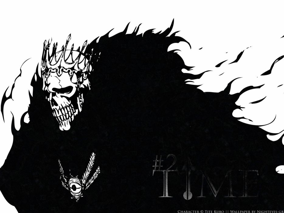skulls death Bleach Espada Barragan Luisenbarn time wallpaper