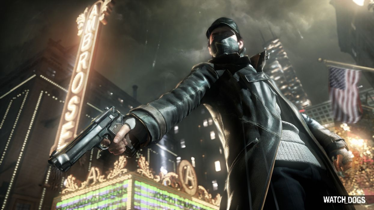 video games Watch Dogs wallpaper