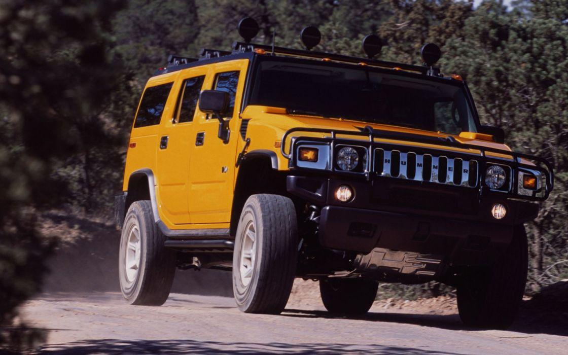 cars vehicles Hummer H2 wallpaper