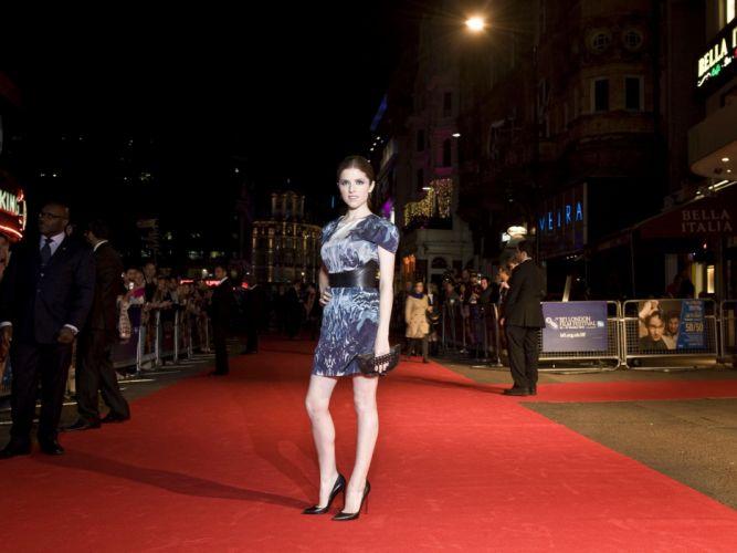 brunettes women actress London Anna Kendrick Festival film wallpaper