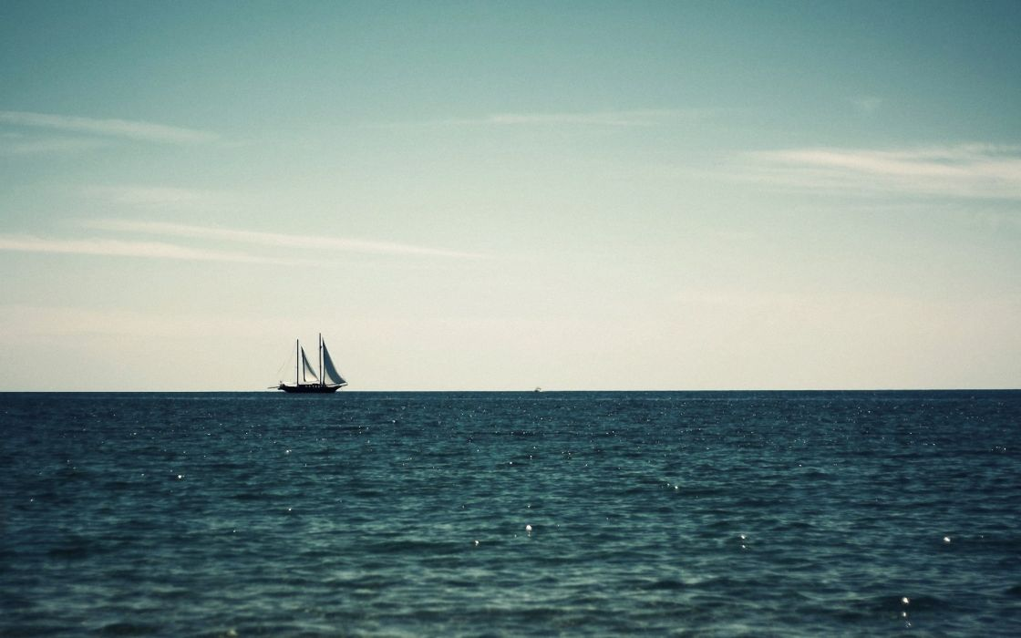 ships sea wallpaper