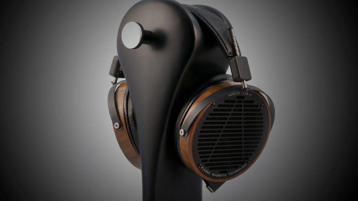 headphones music gradient wallpaper