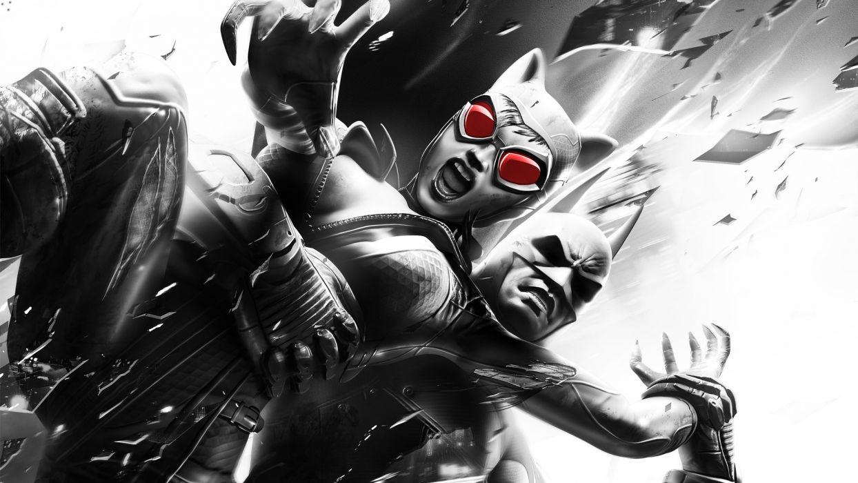 Batman Catwoman Batman Arkham City wallpaper