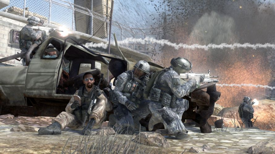 soldiers video games Call of Duty wallpaper