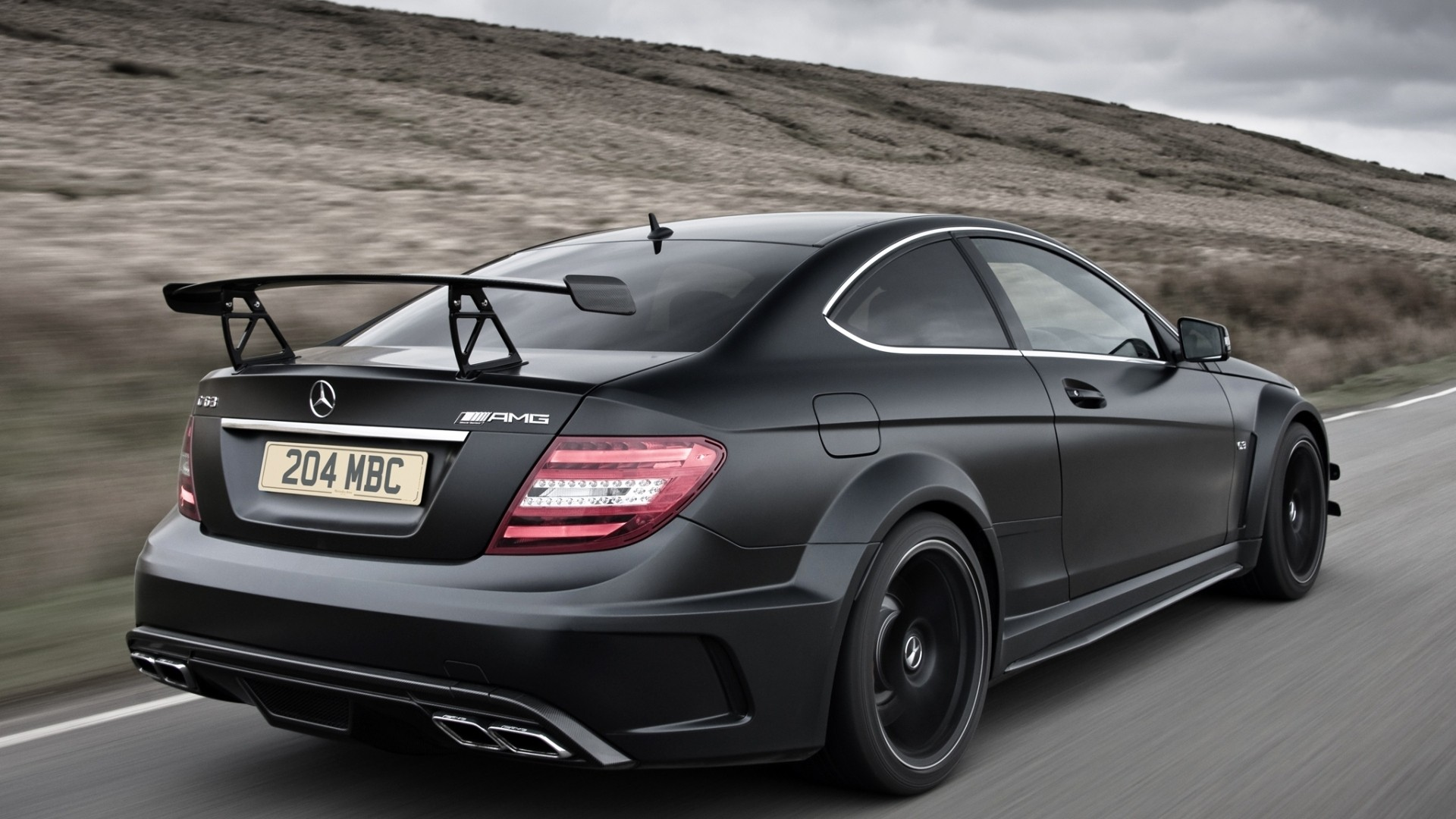 Inden design creates its own mercedes-benz c63 black | carscoops.