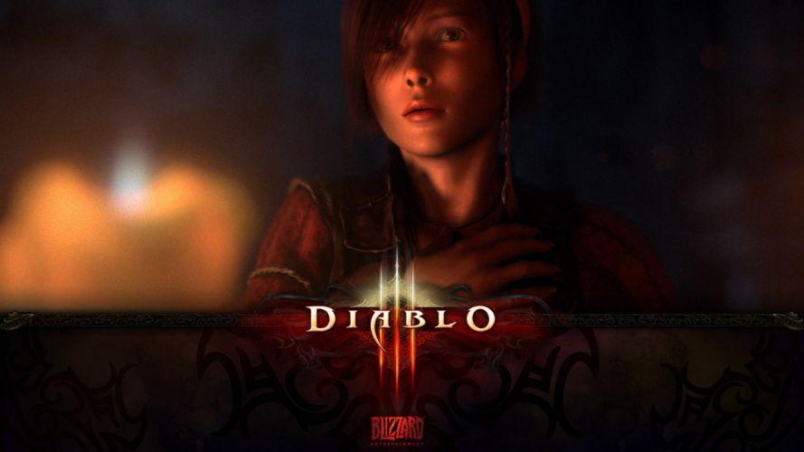 video games Blizzard Entertainment Diablo III wallpaper