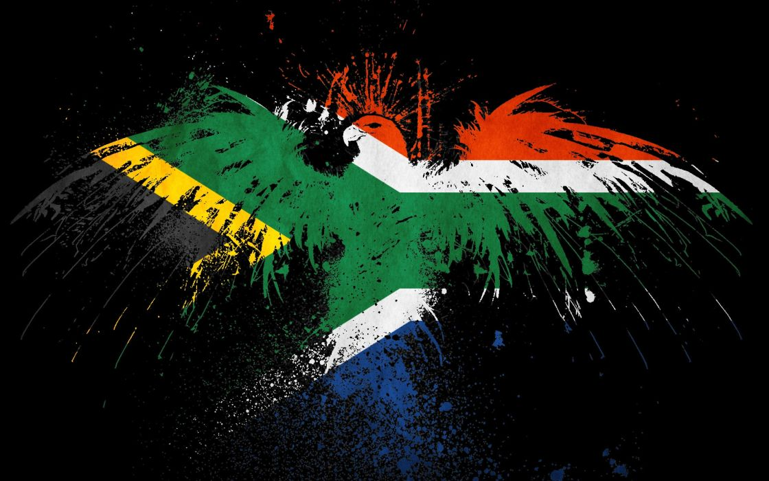 flags South Africa wallpaper