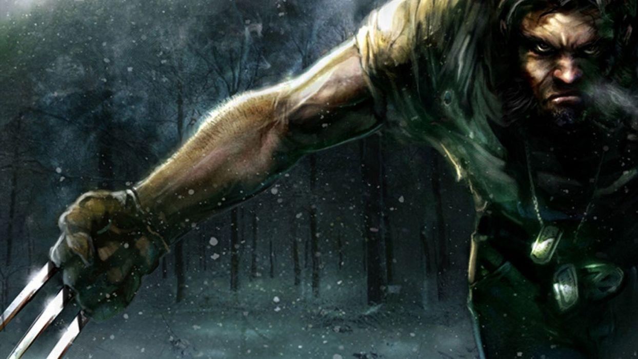 video games comics X-Men Wolverine artwork Marvel Comics wallpaper