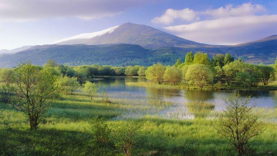 Scotland rivers Mount wallpaper