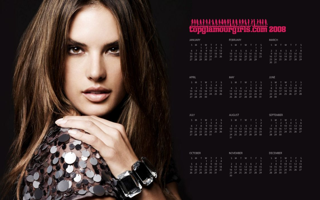 women models Alessandra Ambrosio wallpaper