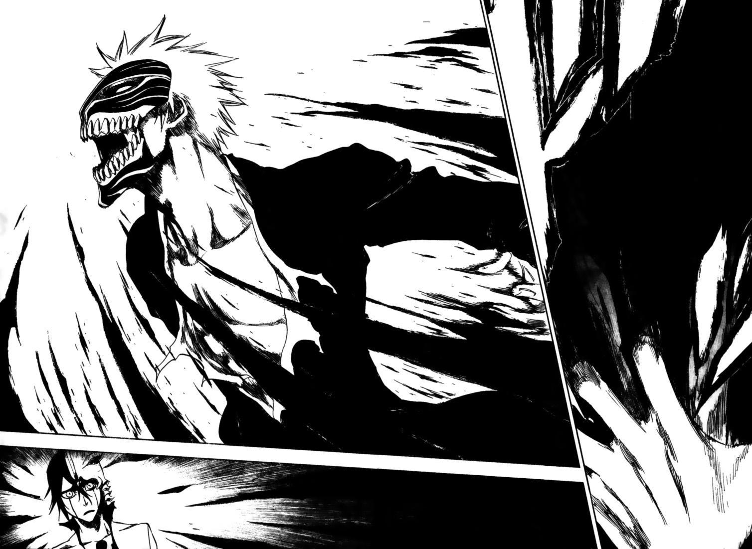 Bleach Kurosaki Ichigo Manga Hollow Ichigo Ulquiorra Cifer Wallpaper X  Wallpaperup